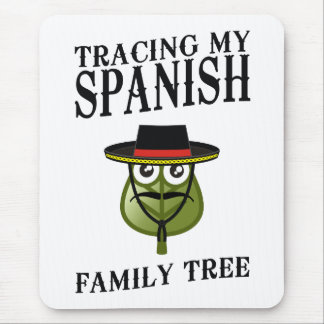 Tracing My Spanish Family Tree Mouse Pad