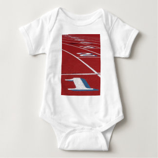 Track And Field Baby Bodysuit