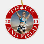 Track and Field Customizable Ornament