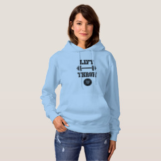 Track and Field Discus Throw Hoodie Sweatshirt