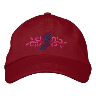 Track and Field Embroidered Baseball Cap