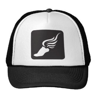 Track and Field Icon Trucker Hats