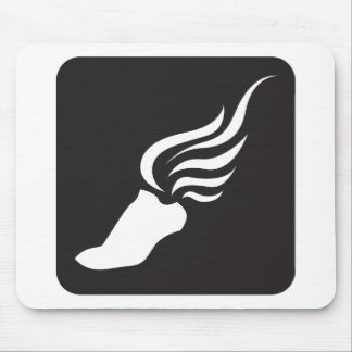 Track and Field Icon Mouse Pad
