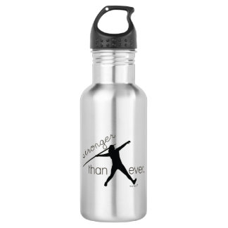 Track and Field Javelin Throw Water Bottle