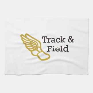TRACK AND FIELD HAND TOWEL