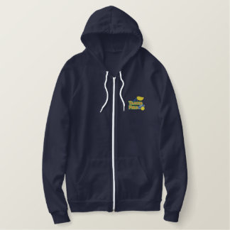 Track and Field Logo Embroidered Hoodie