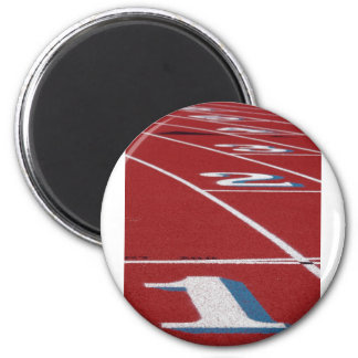 Track And Field Magnet