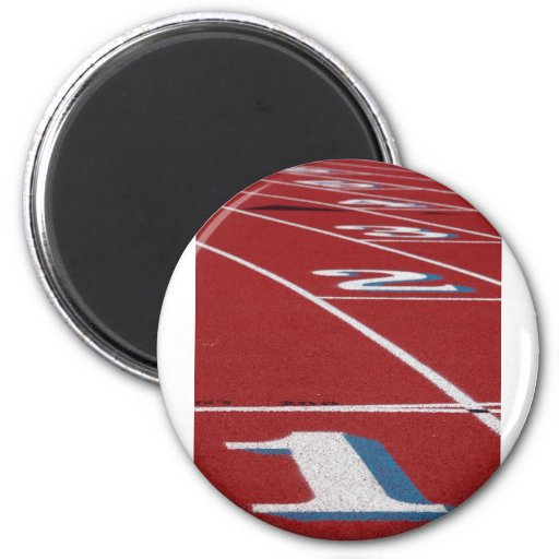 Track And Field Refrigerator Magnets