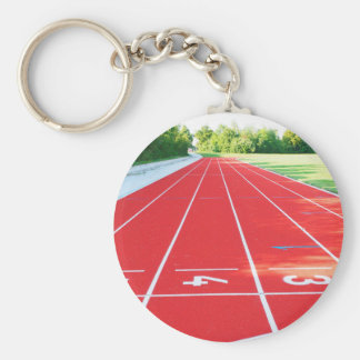 Track and Field - Runner Print Keychain