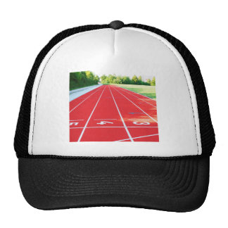 Track and Field - Runner Print Trucker Hat