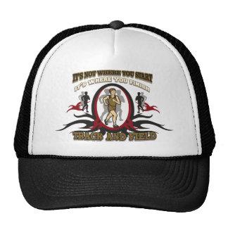 Track and Field Start Trucker Hat