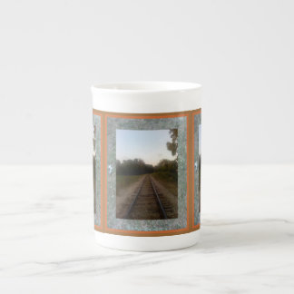 Track Back Home Tea Cup