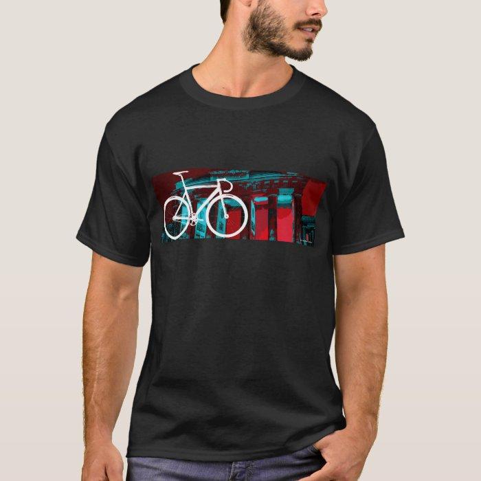Track Bike Berlin - red blue T-Shirt