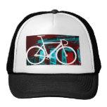 Track Bike Berlin - red blue Trucker Hat