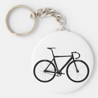 Track Bike Keychain