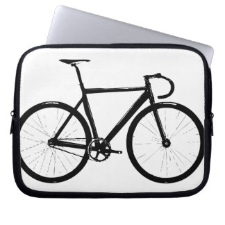 Track Bike Laptop Sleeves
