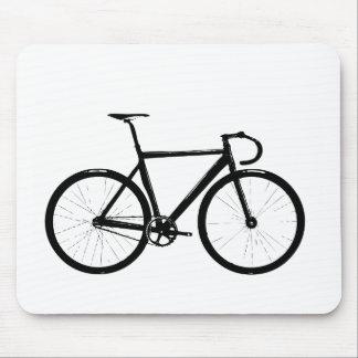 Track Bike Mouse Pad