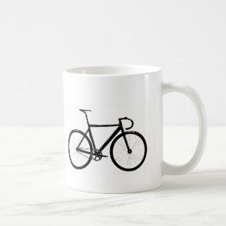 Track Bike Classic White Coffee Mug