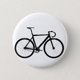 Track Bike Pinback Button