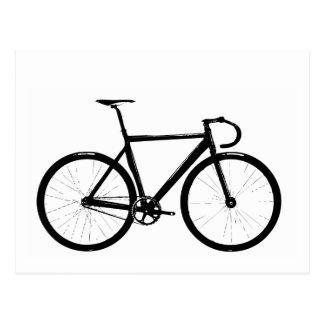 Track Bike Postcard