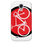 Track Bike - Red Dot Galaxy S4 Cases