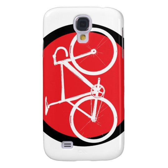 Track Bike - Red Dot Samsung S4 Case