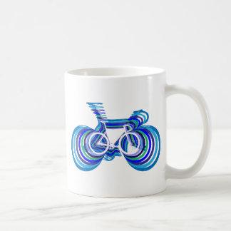 Track Bike sc Classic White Coffee Mug
