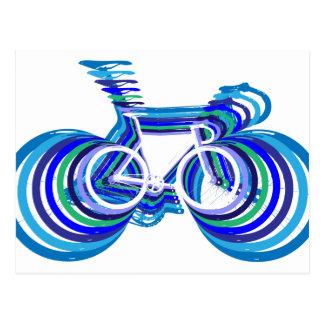 Track Bike sc Postcard