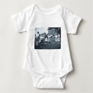 Track Cleaners New York Central Railroad Vintage Baby Bodysuit