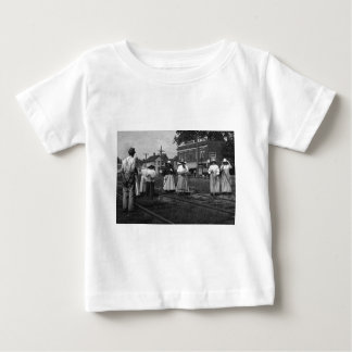 Track Cleaners New York Central Railroad Vintage Baby T-Shirt