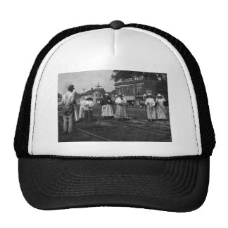 Track Cleaners New York Central Railroad Vintage Mesh Hat