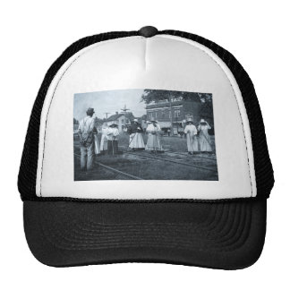 Track Cleaners New York Central Railroad Vintage Hat