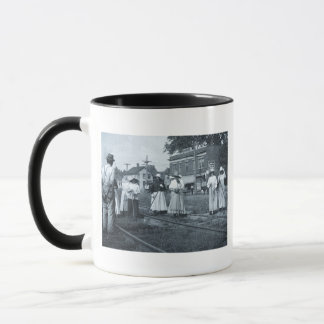 Track Cleaners New York Central Railroad Vintage Mug