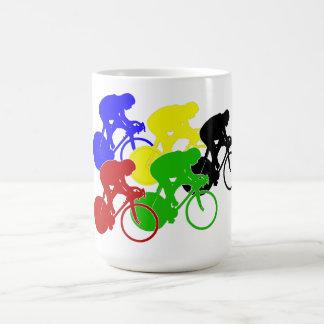 Track Cycling Bicycle Race Bike Riders   Coffee Mug