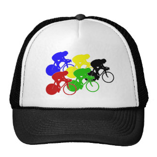 Track Cycling Bicycle Race Bike Riders   Hats