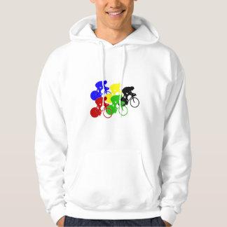 Track Cycling Bicycle Race Bike Riders   Hoodie