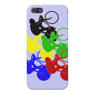 Track Cycling Bicycle Race Bike Riders   iPhone 5 Case