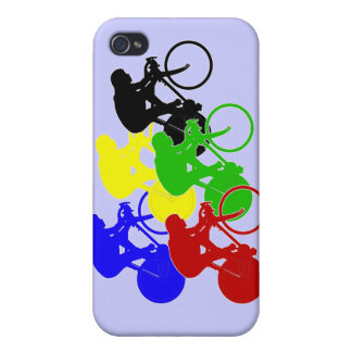 Track Cycling Bicycle Race Bike Riders  iPhone 4/4S Cover