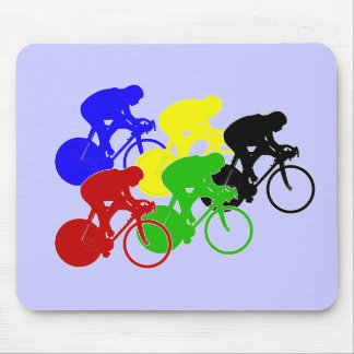 Track Cycling Bicycle Race Bike Riders   Mousepads