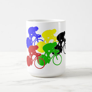 Track Cycling Bicycle Race Bike Riders   Mugs