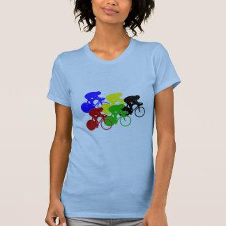 Track Cycling Bicycle Race Bike Riders   T Shirt