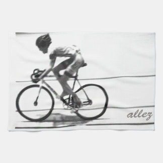 Track Cyclist Kitchen Towel