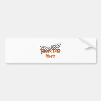 Track Day Hero Car Bumper Sticker