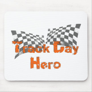 Track Day Hero Mouse Pad