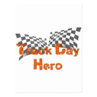 Track Day Hero Postcard