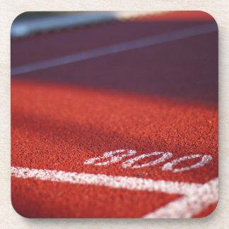 Track & Field Beverage Coaster