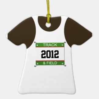 Track & Field Ornament - Customizable Year