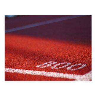 Track & Field Postcard