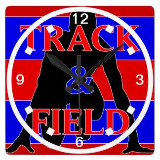 Track & Field Wall Clock