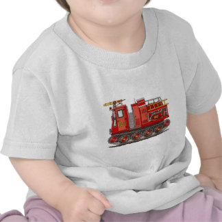 Track Fire Truck Infant T-Shirt